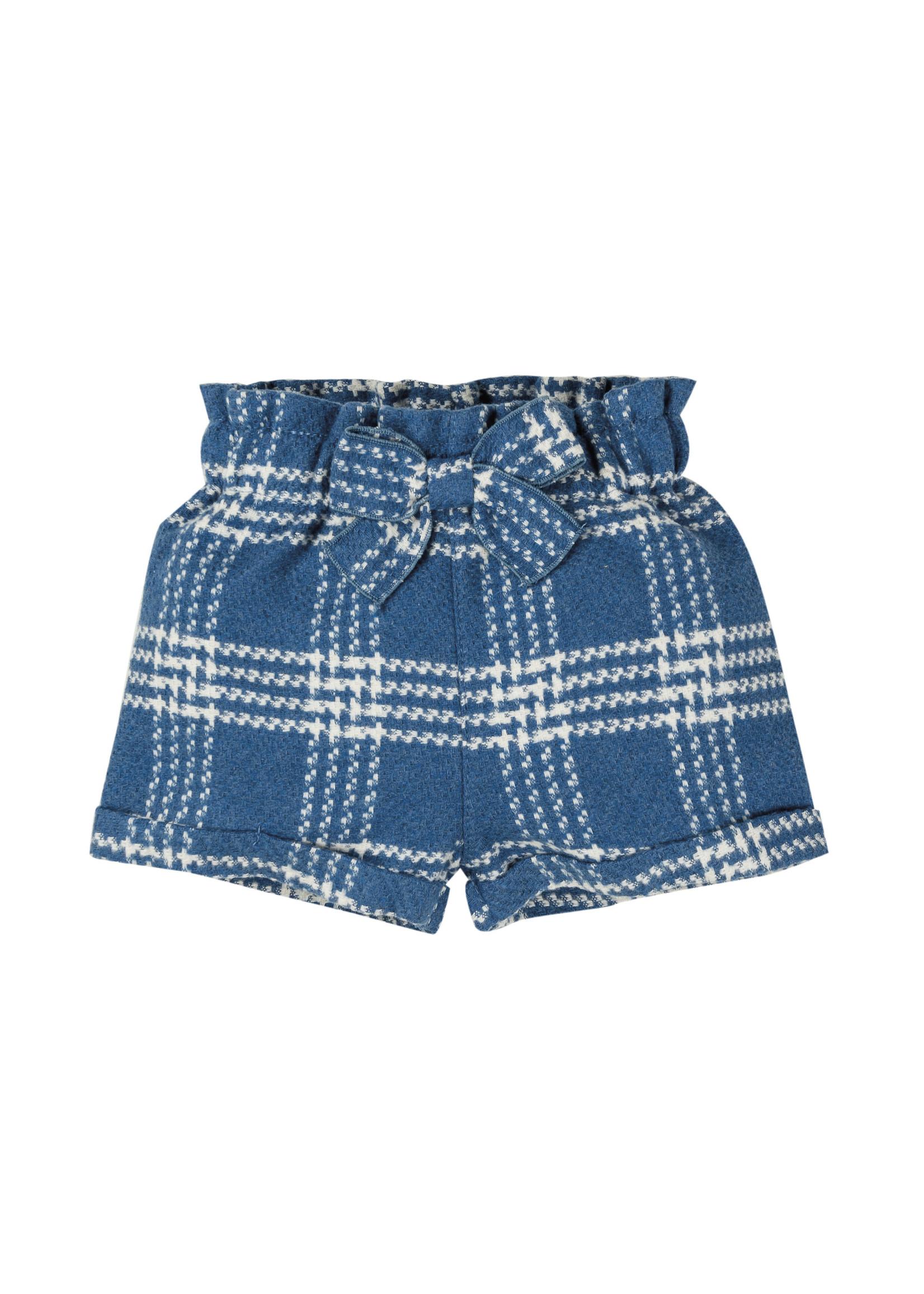 EMC EMC geruite shorts blauw