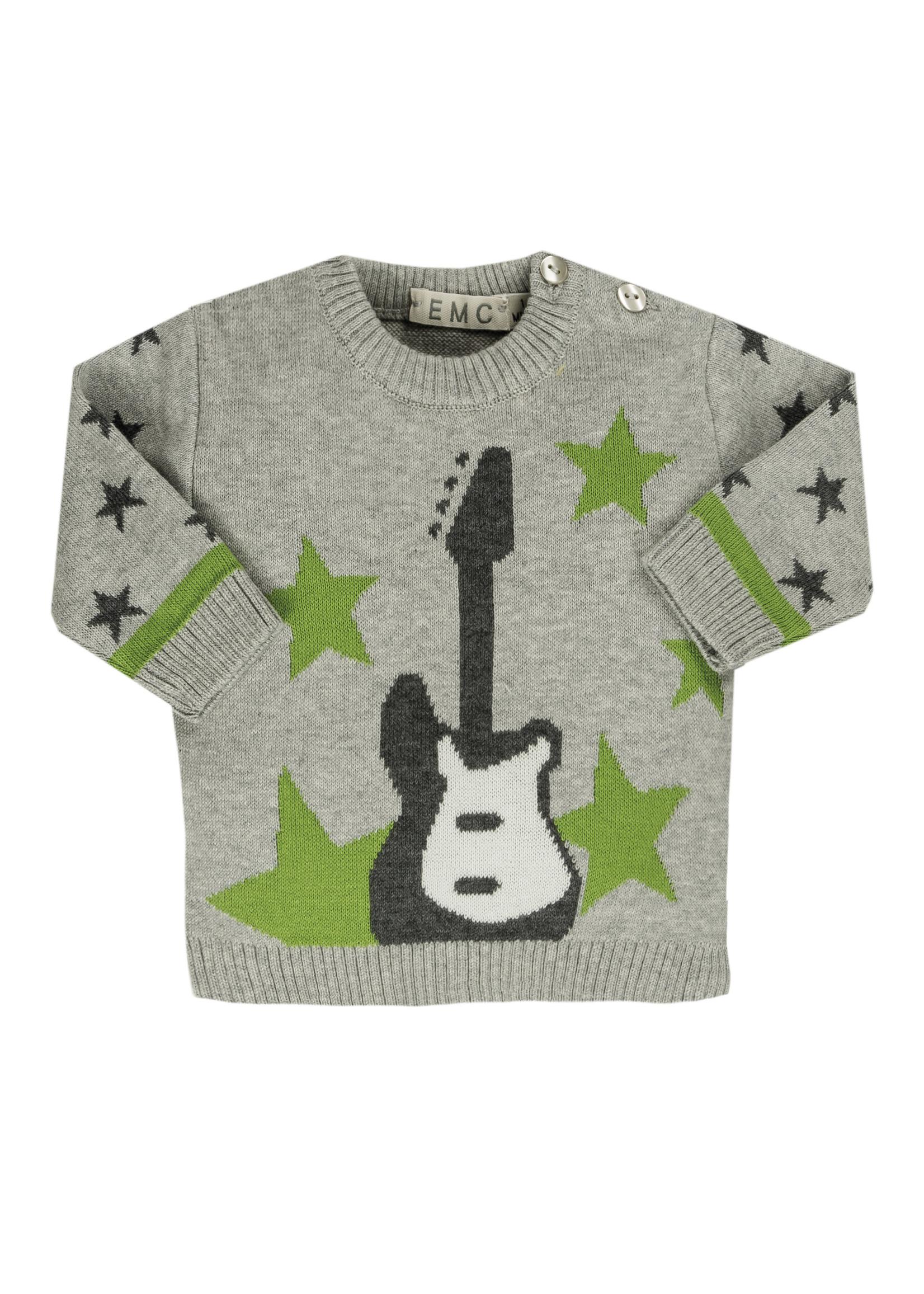 EMC EMC knit guitar sweater