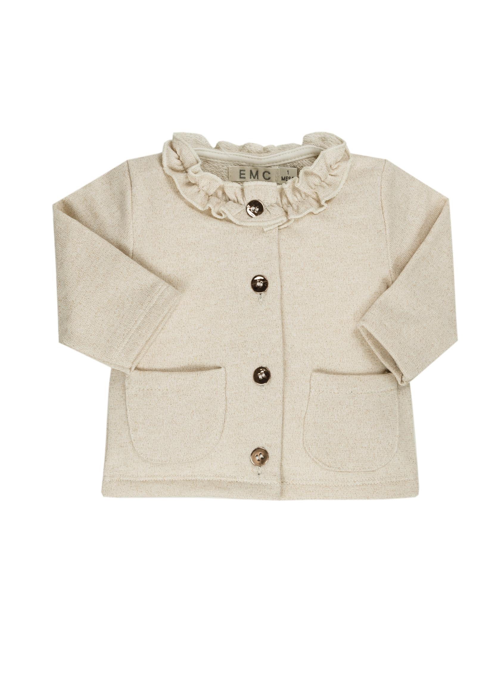EMC EMC fleece jacket gold