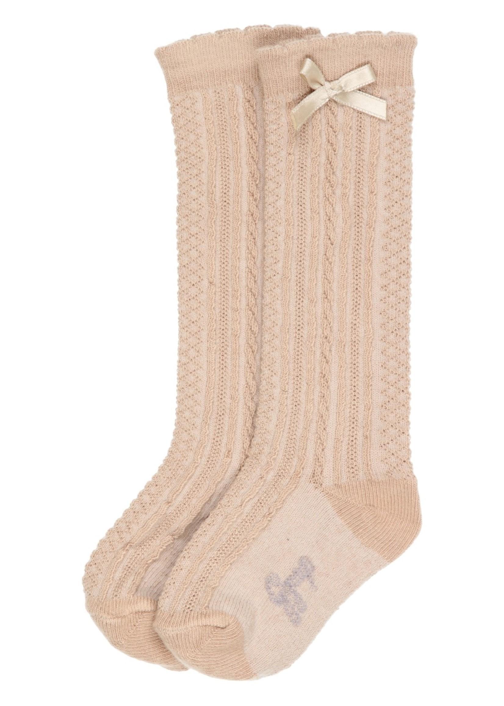 Gymp Gymp Girls knee socks camel
