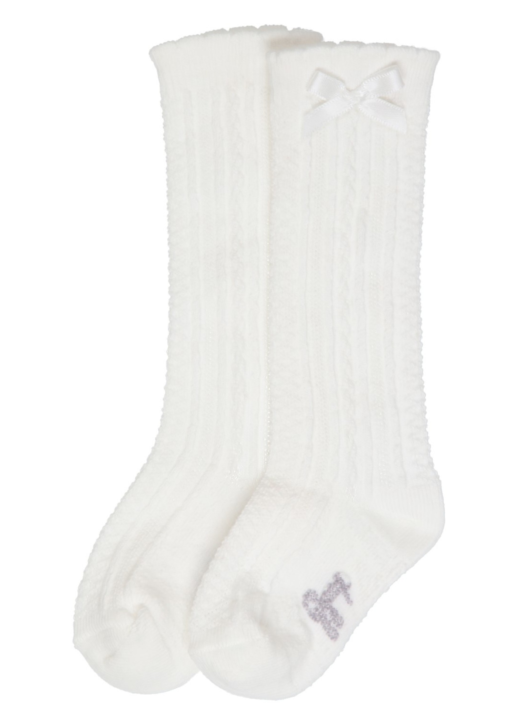 Gymp Gymp Girls knee socks offwhite