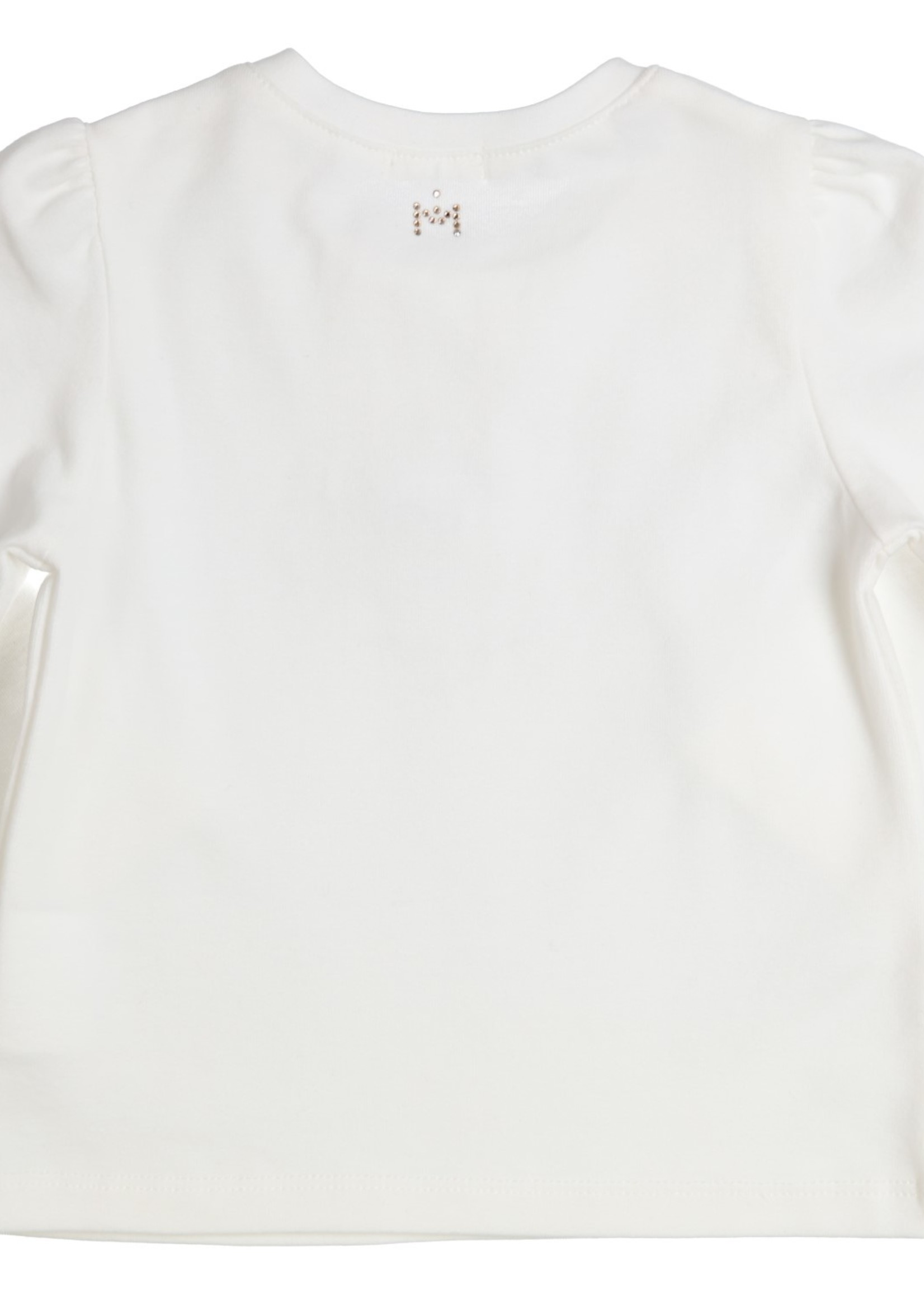 Gymp Gymp longsleeve TO THE MOON AND BACK off white