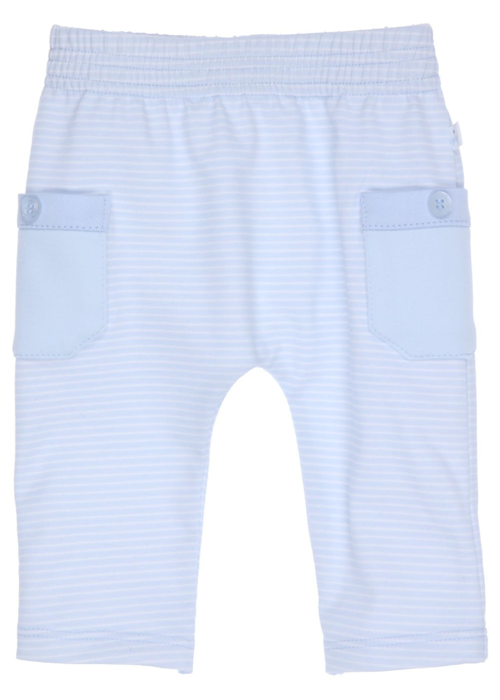 Gymp Gymp trousers pockets lichtblauw wit
