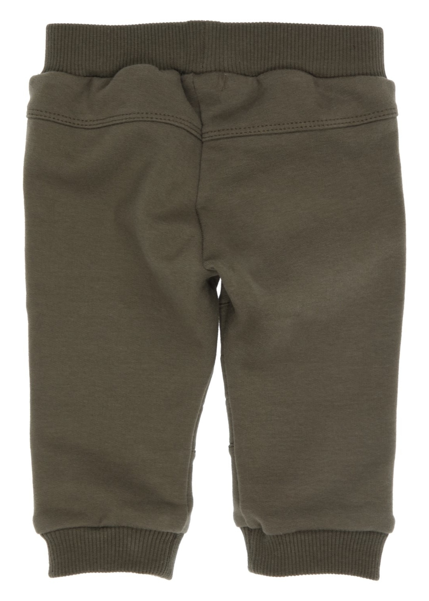 Gymp Gymp pants knee stitching kaki