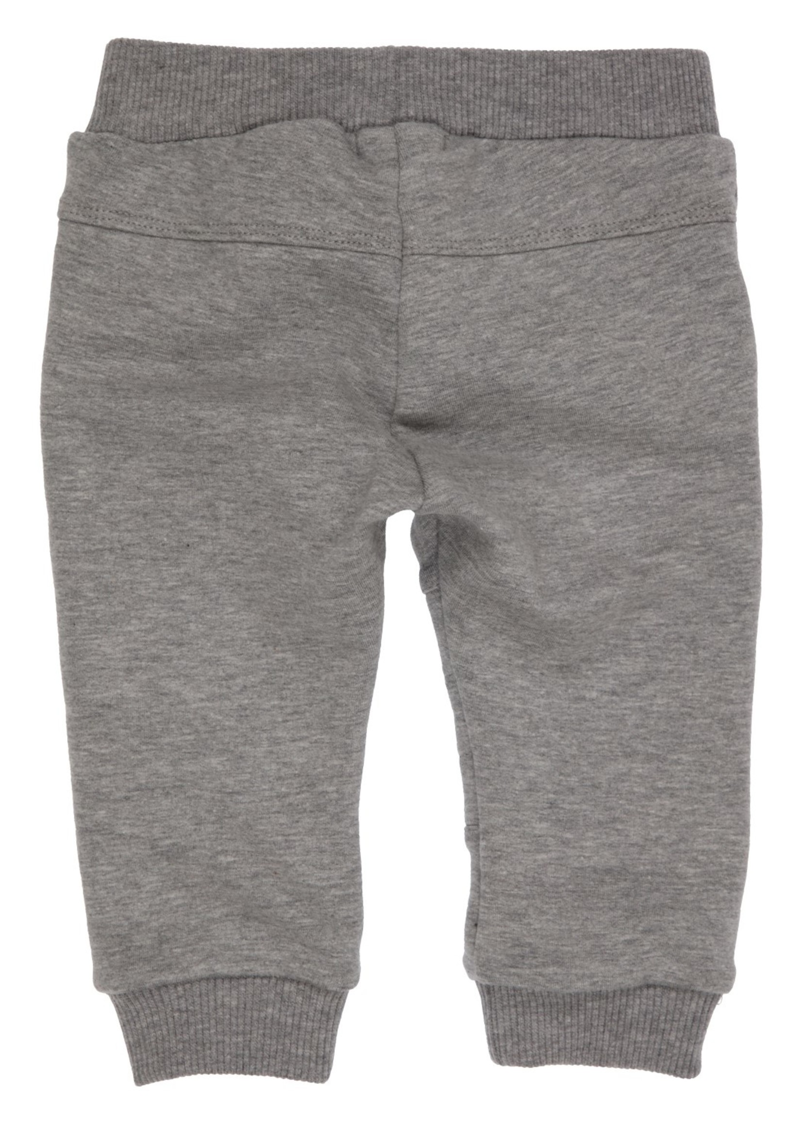 Gymp Gymp pants knee stitching grijs chine