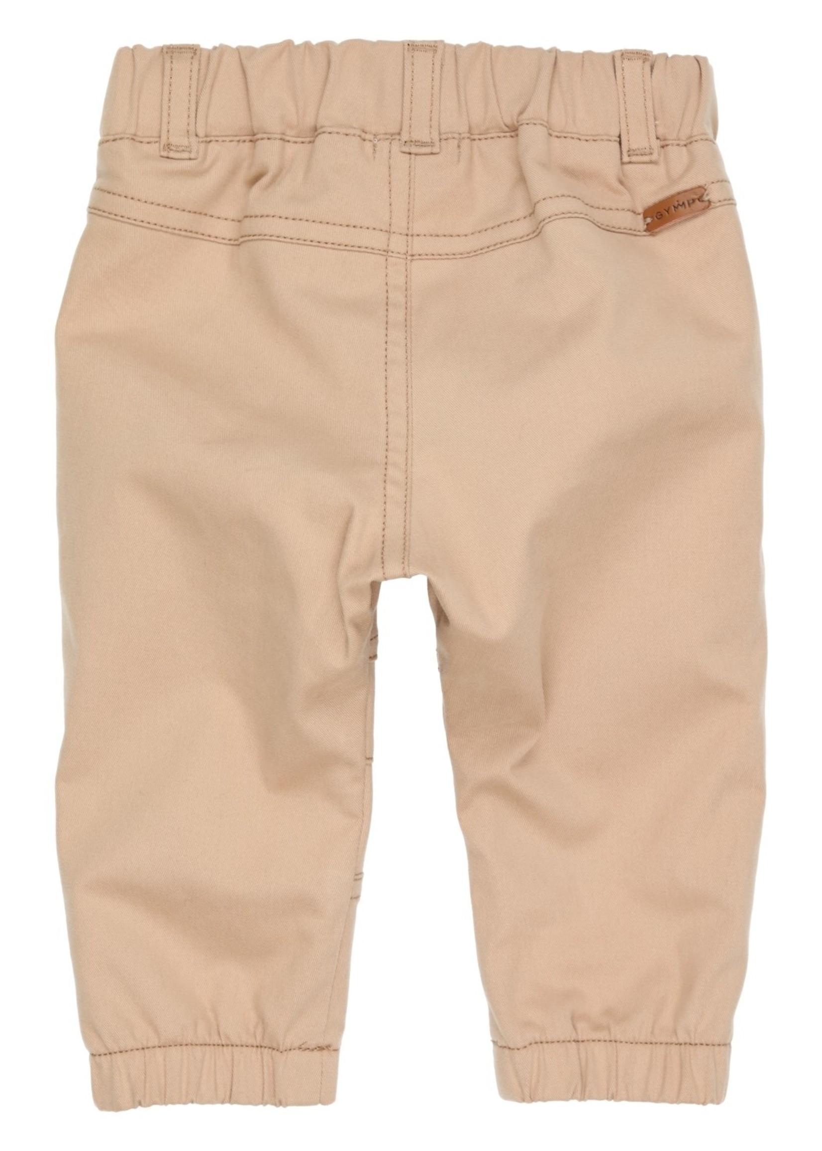 Gymp Gymp pants elastic legborder beige