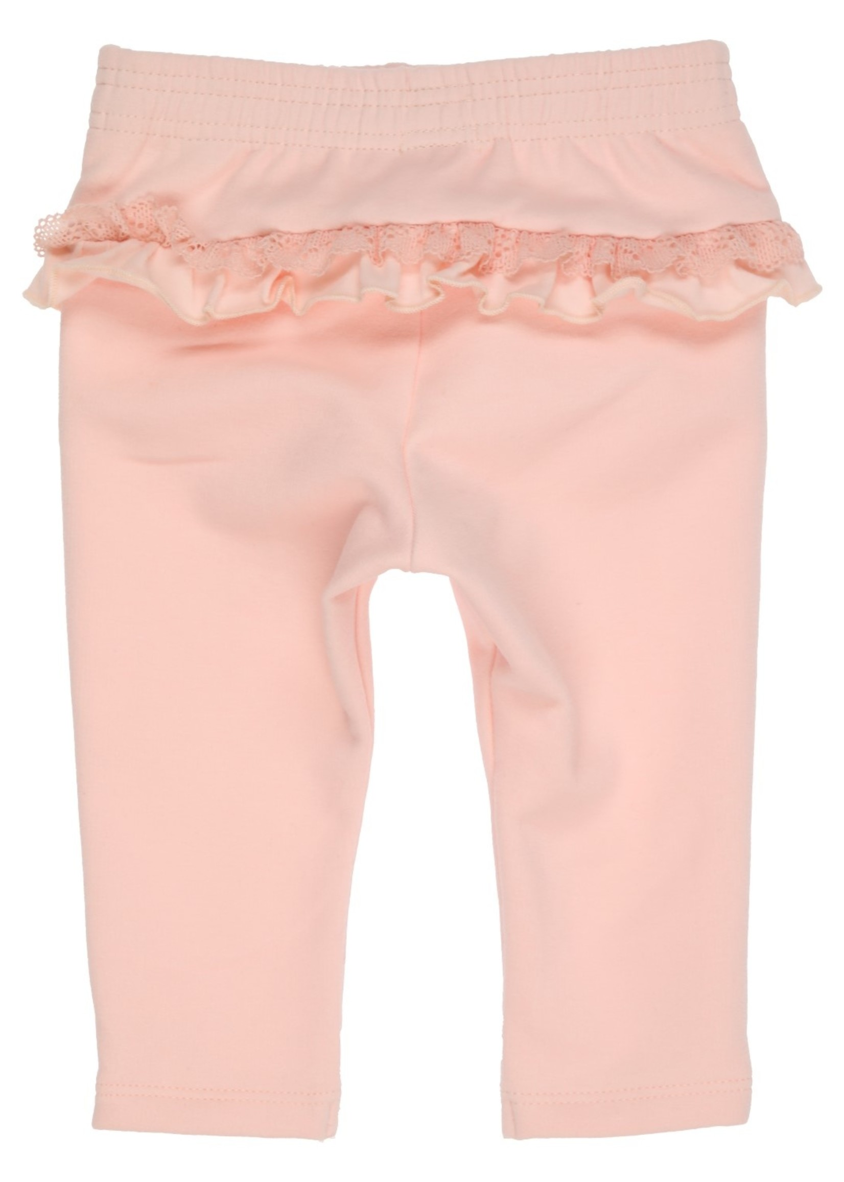 Gymp Gymp joggingpants flounces and lace vieux rose