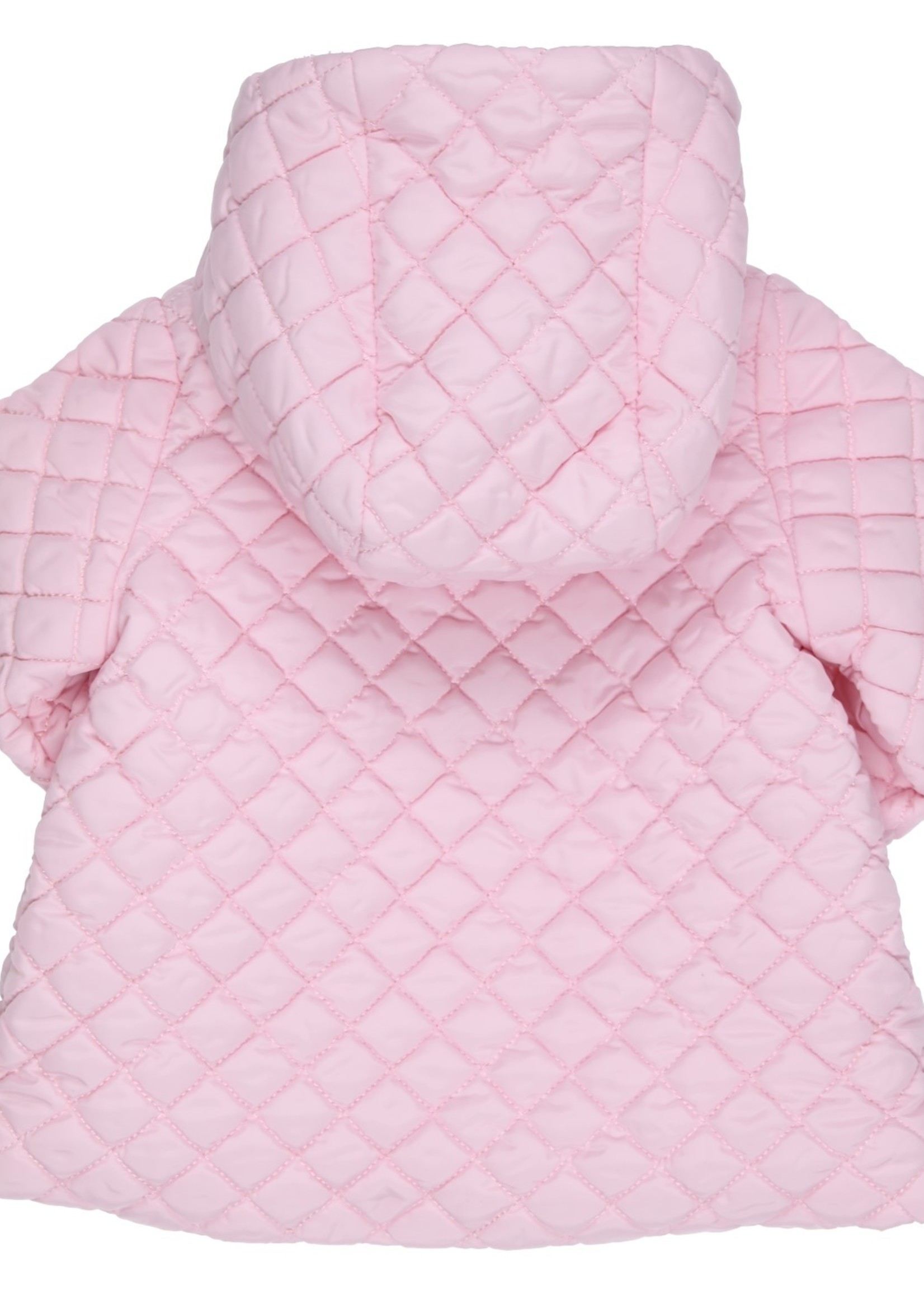 Gymp Gymp coat with hood lichtrose