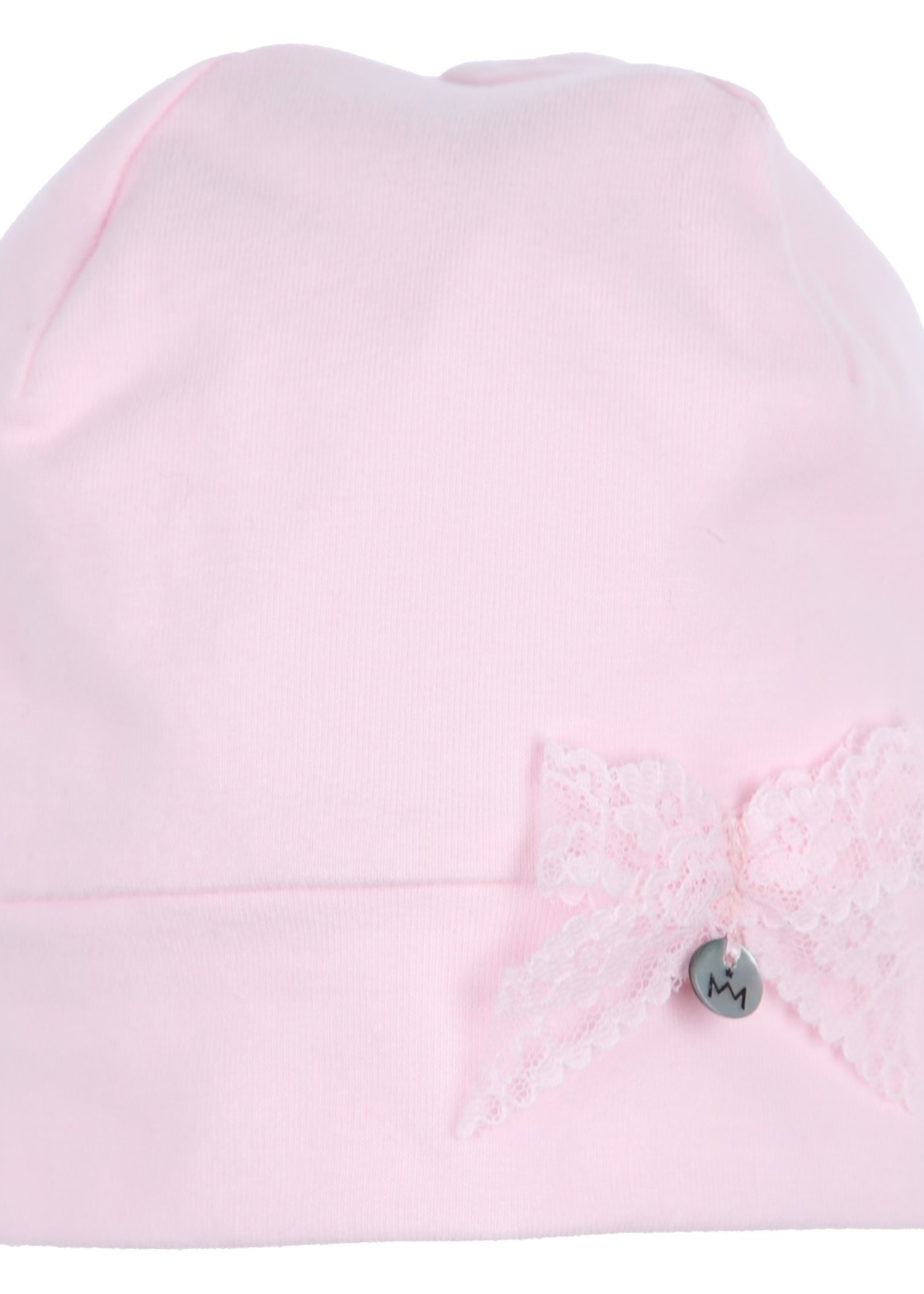 Gymp girls hat bow AERODOUX lichtrose