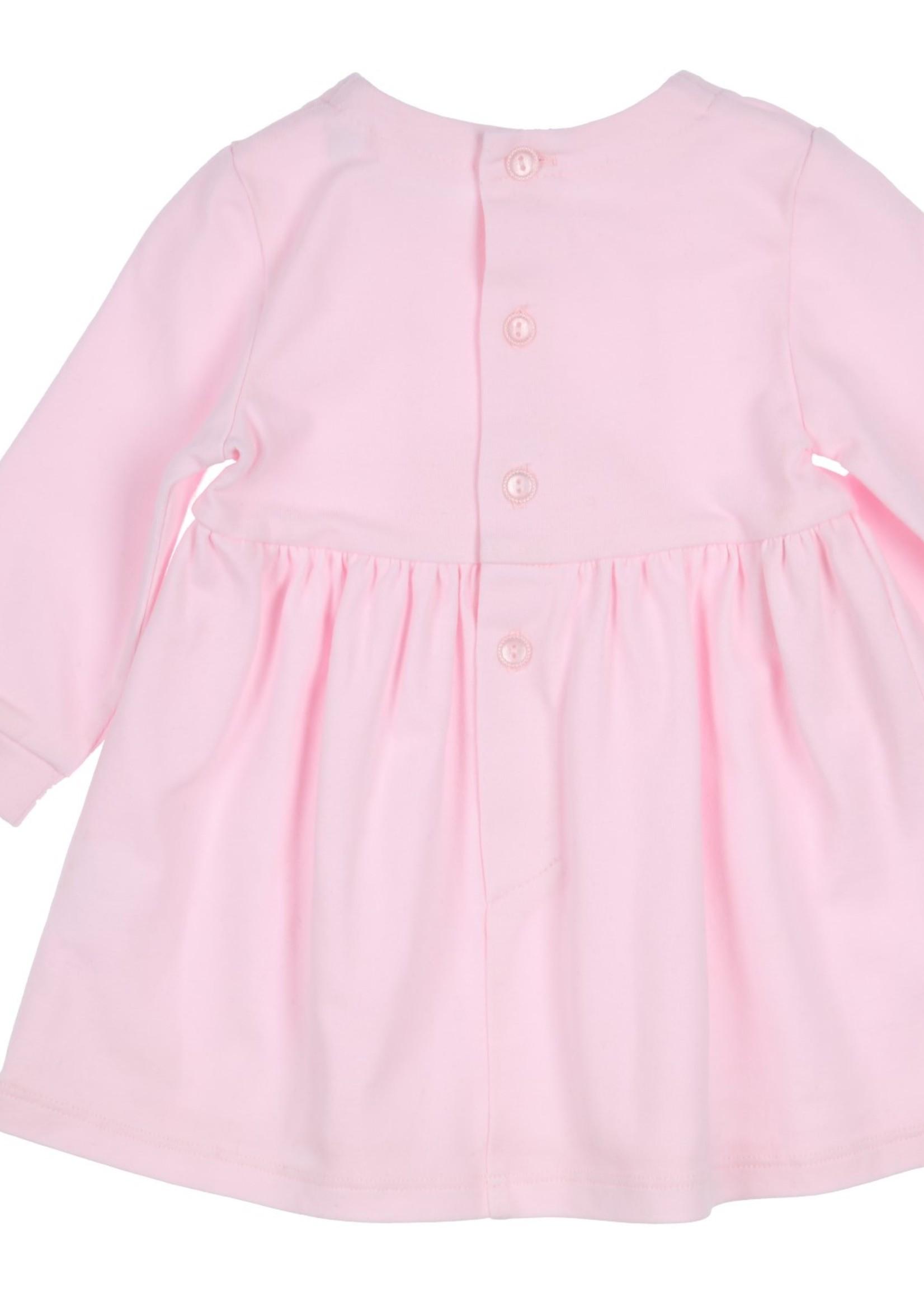 Gymp Gymp dress strikje lichtrose