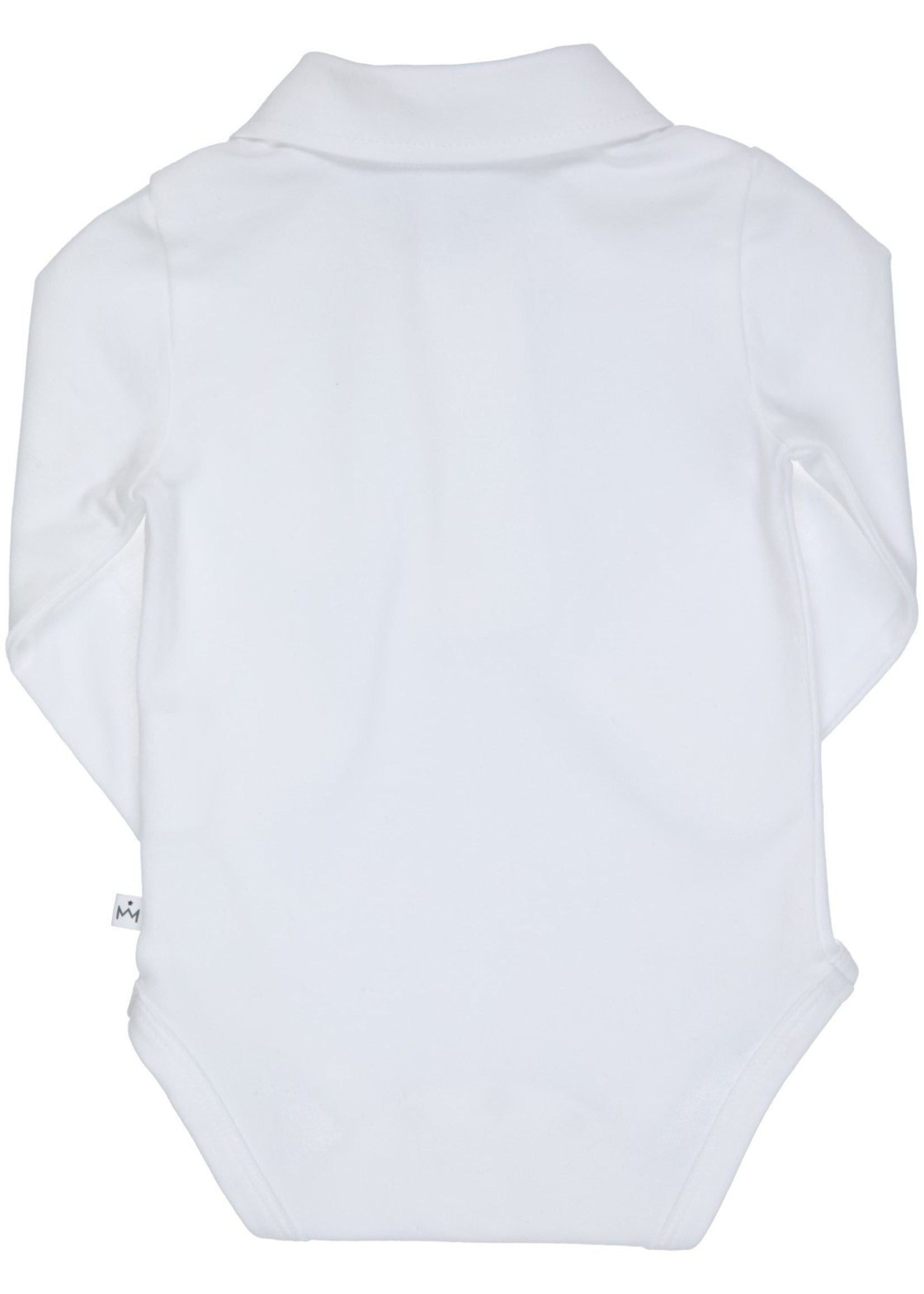 Gymp Gymp polo romper wit