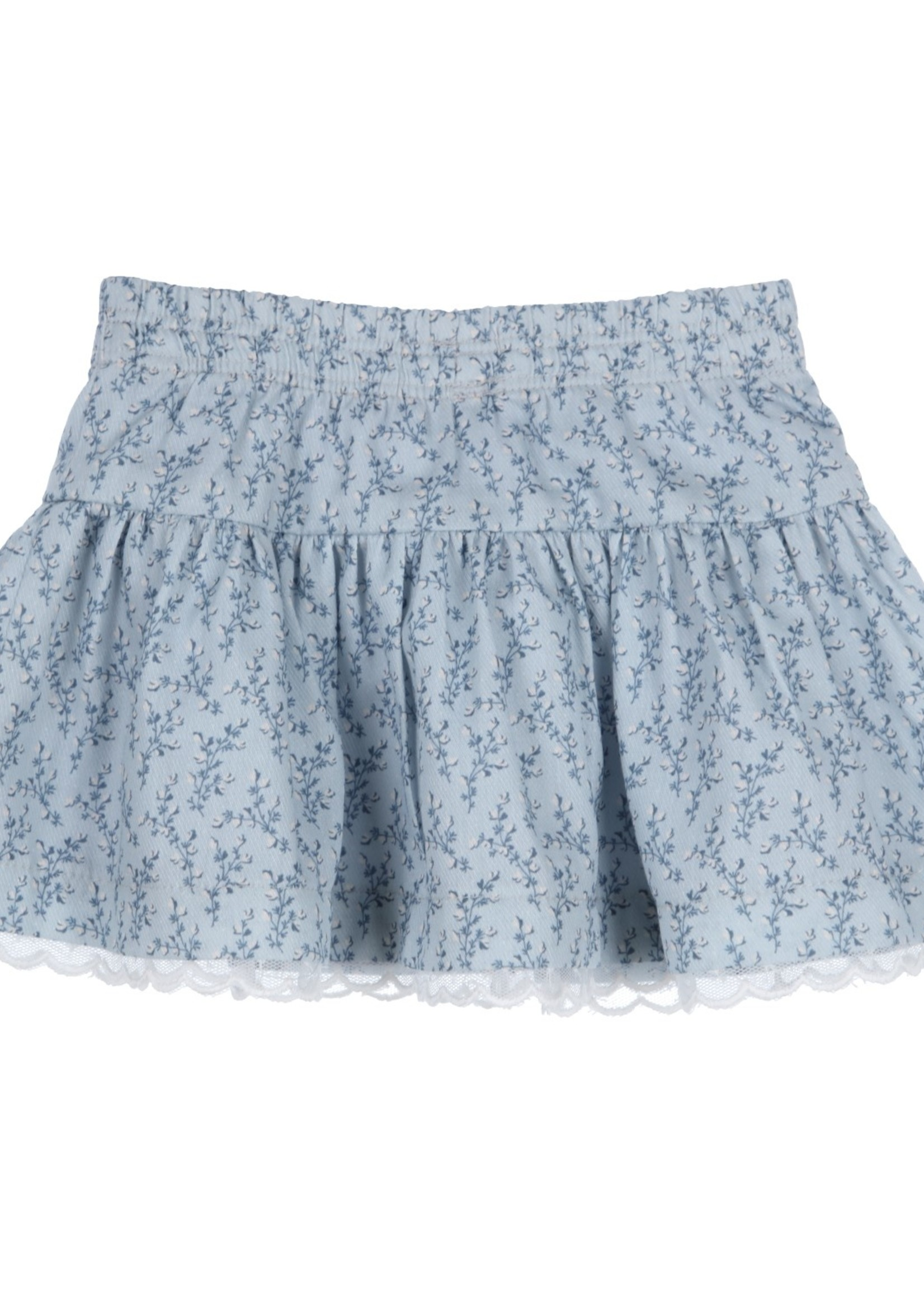 Gymp Gymp skirt blauw