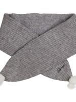 Gymp Gymp girls shawl CECILE grijs