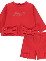 Little Adee Little Adee BLAKE Sweatshirt & short set