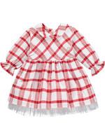 Little Adee Little Adee BETH Check dress