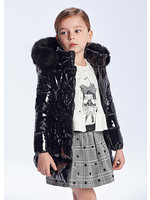 Mayoral Mayoral padded coat for girls black