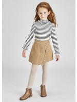 Mayoral Mayoral corduroy skirt for girl sand