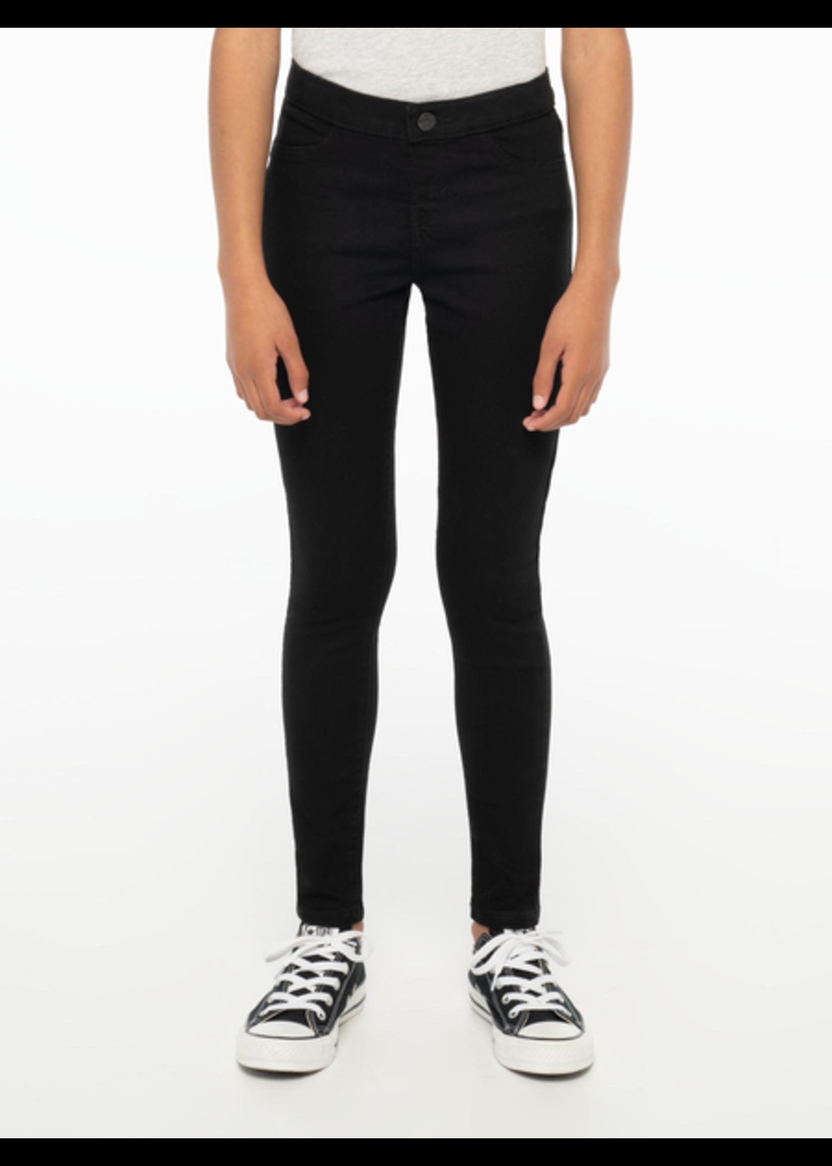 Levi's Levis pull on spijker legging zwart