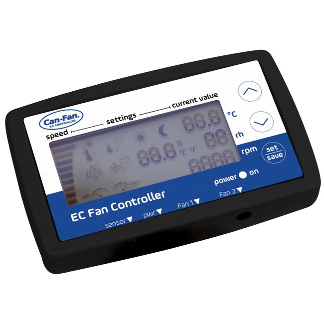 CAN Q-Max EC LCD Fan Controller & Power Cable