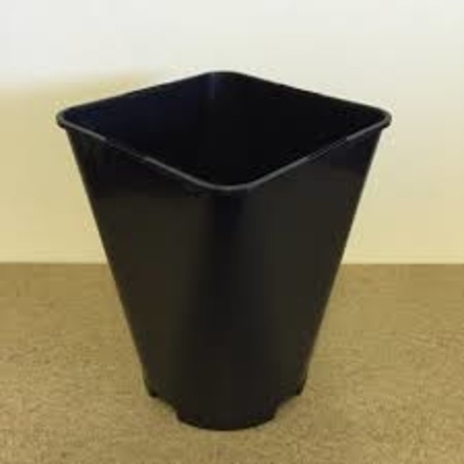 Miscellaneous Grow Products Round Bottom Plastic Square Pot