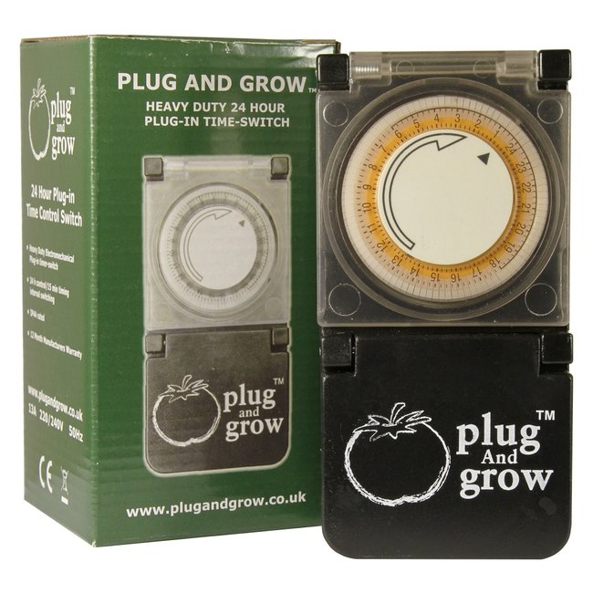 Plug and Grow H.D 24h Plug In Timer