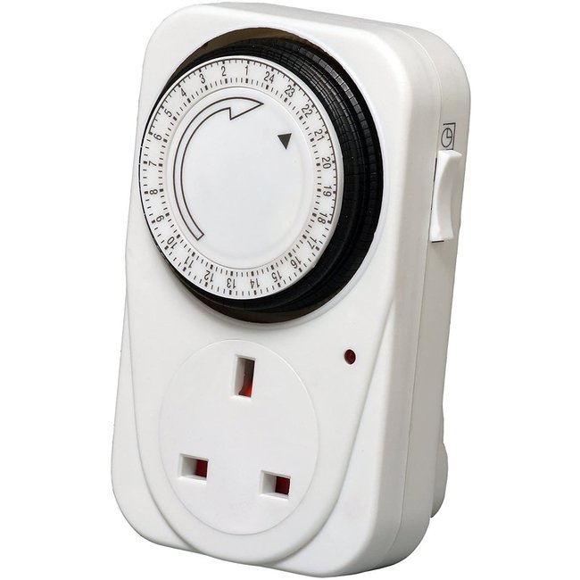 Miscellaneous Electrical Products Heavy Duty 24 Hour Timer