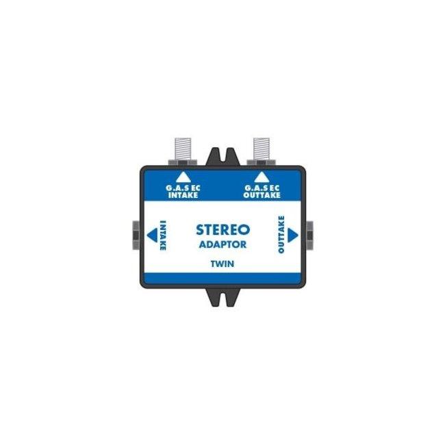 G.A.S Twin EC-Stereo Adaptor