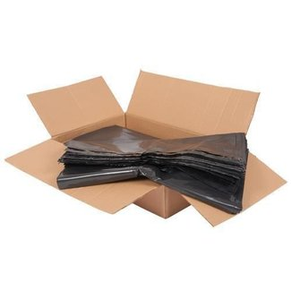 Non Branded Black Plastic Heavy Duty Refuse Sacks (box of 200)