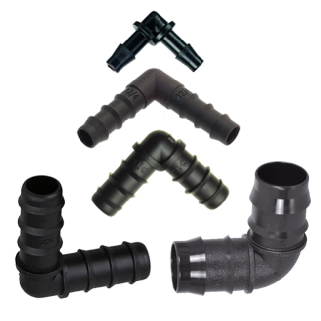 Miscellaneous Grow Products Barbed Elbow - 32mm