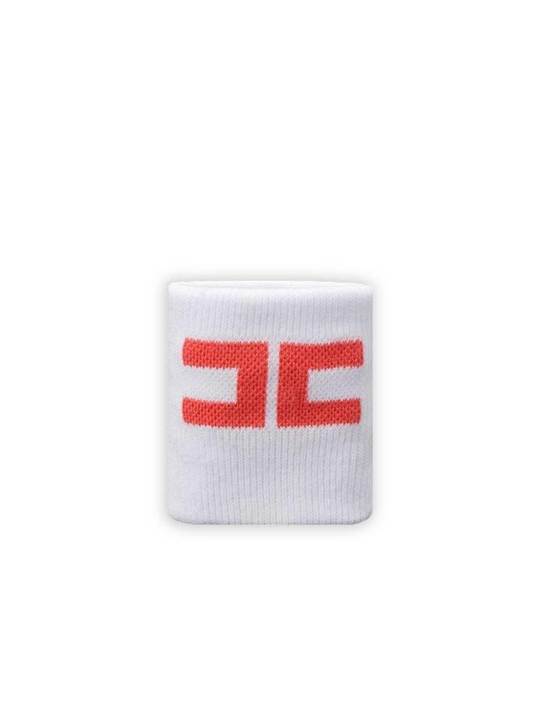 Elisabetta Franchi Elisabetta Franchi Sportband wit met koraal