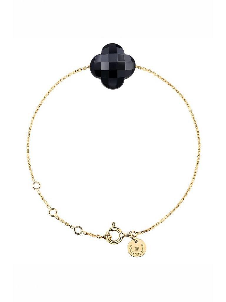Morganne Bello Morganne Bello bracelet with onyx stone