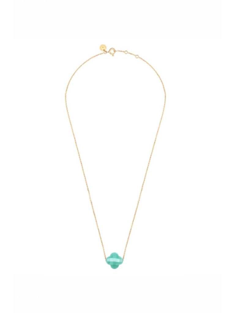 Morganne Bello Morganne Bello necklace with amazonite stone