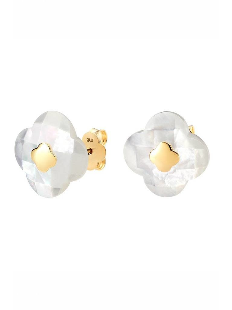 Morganne Bello Morganne Bello earrings pearl white