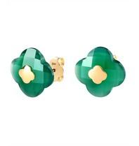Morganne Bello Morganne Bello earrings green agate