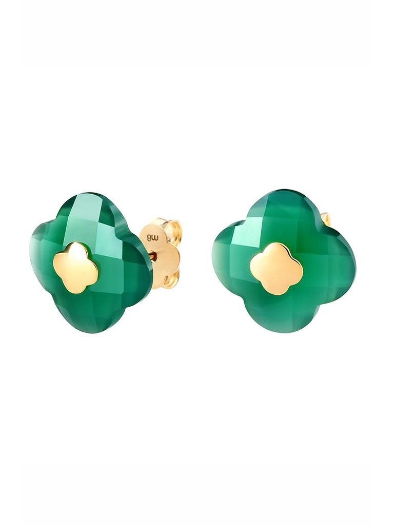 Morganne Bello Morganne Bello earrings green agate
