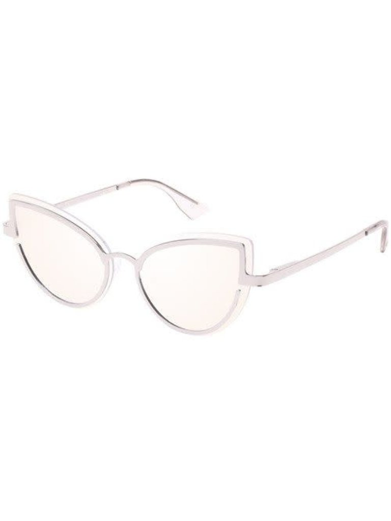 Le Specs Luxe Le Specs Luxus Adulation Brille Platin