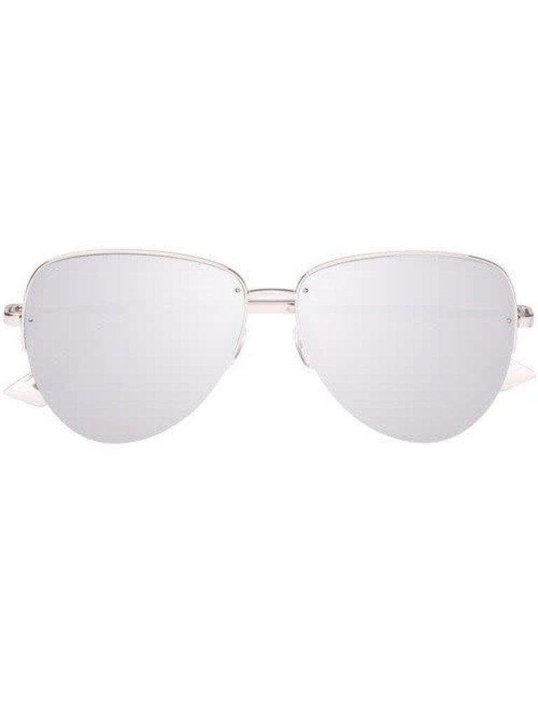 Le Specs Luxe Le Specs Luxury Empress sunglasses platinum