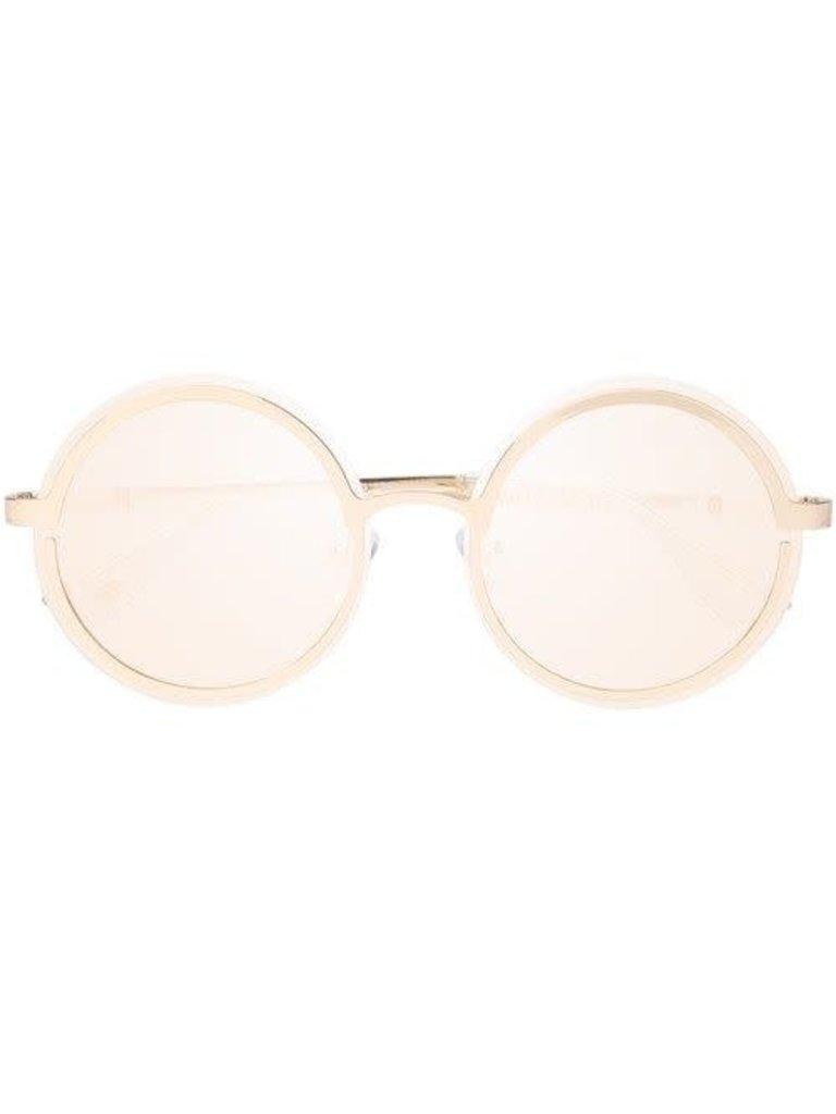 Le Specs Luxe Le Specs Luxe Oviaton zonnebril goud