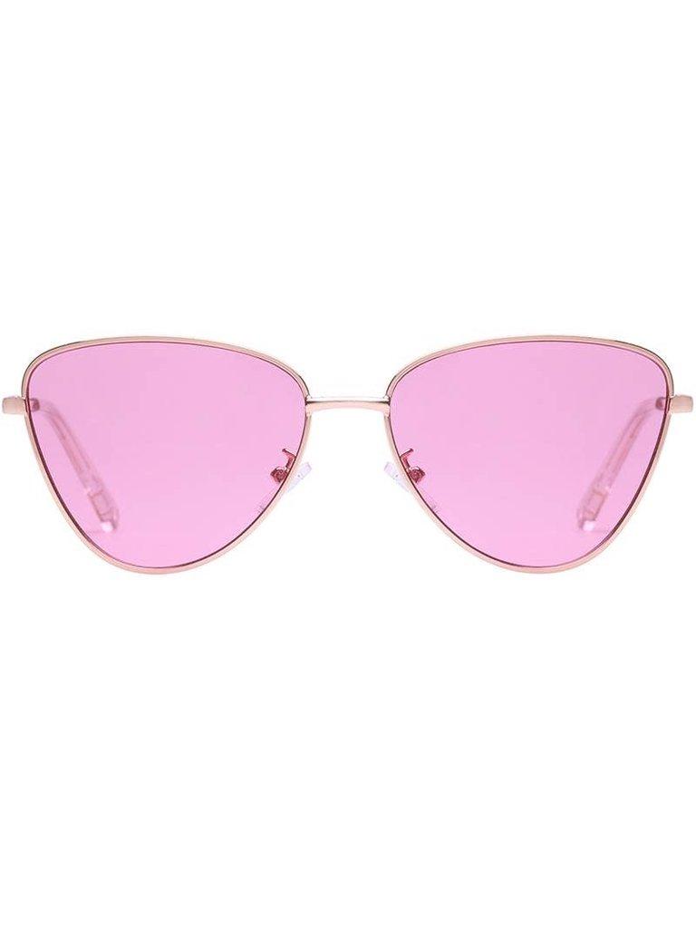 Le Specs Le Specs Echo Sonnenbrille aus Roségold