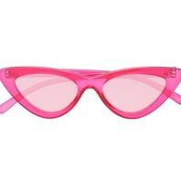 Le Specs Le Specs x Adam Selman Die letzte Lolita Sonnenbrille pink