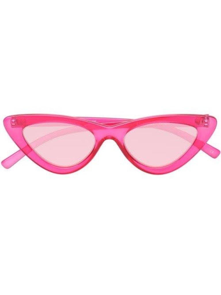 Le Specs Le Specs x Adam Selman The Last Lolita zonnebril roze