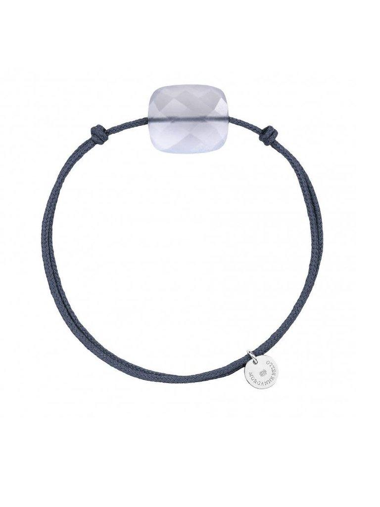 Morganne Bello Morganne Bello cord bracelet Calcedoine