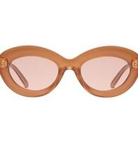 Le Specs Le Specs Fluxus glasses Gold Shimmer