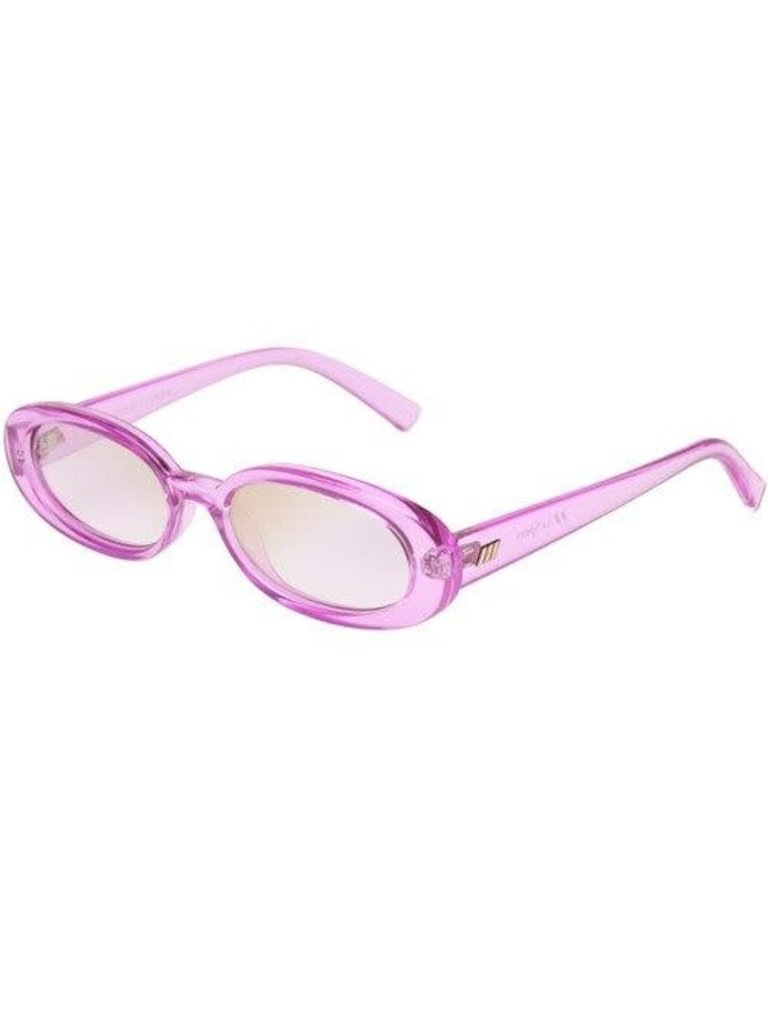 Le Specs Le Specs Outta Love bril roze