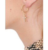 Vanessa Mooney Vanessa Mooney Rita Cross gold earrings