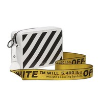 Off-White OFF-WHITE Diag fanny pack white