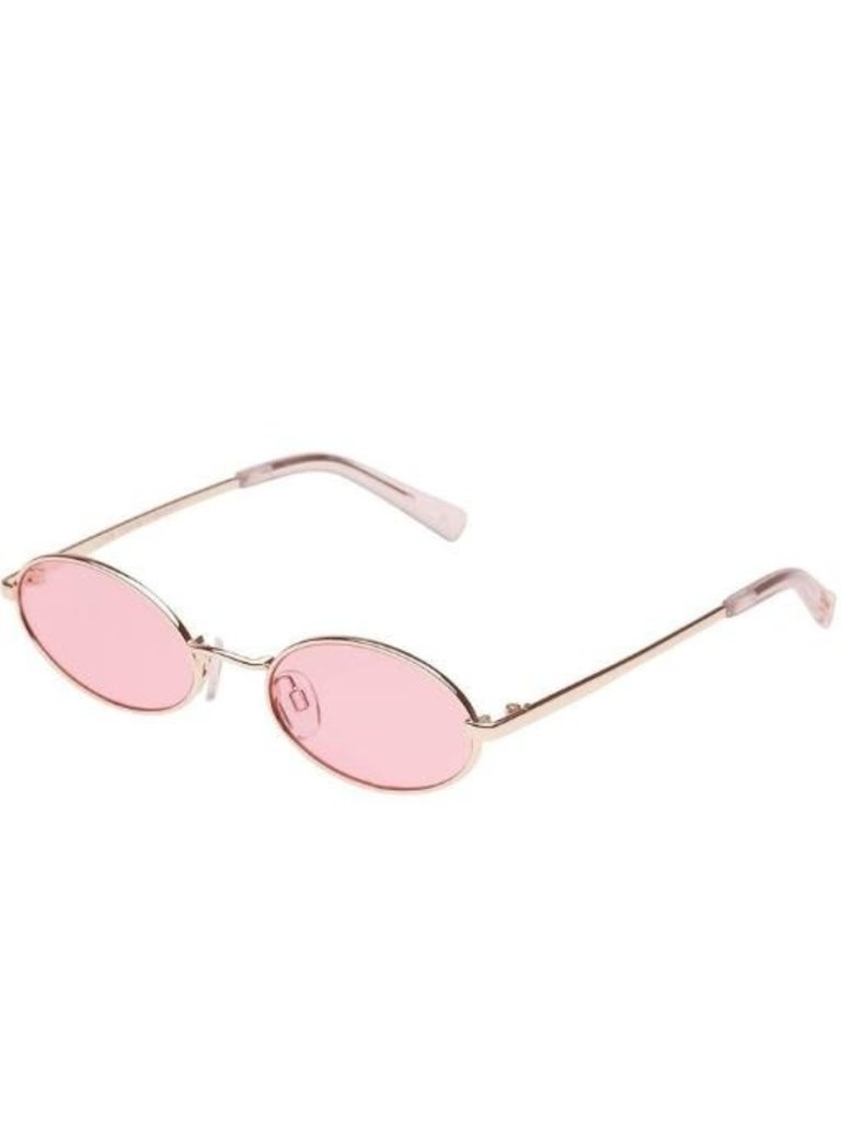 Le Specs Le Specs Love train sunglasses gold pink