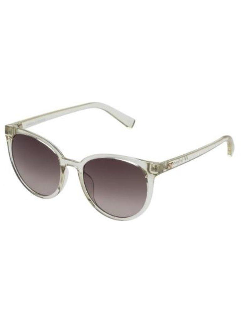 Le Specs Le Specs Armada zonnebril transparant wit bruin