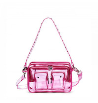 Núnoo Núnoo Ellie bag transparent pink large