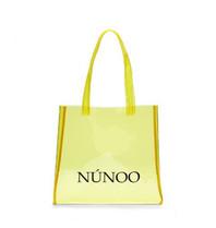 Núnoo Núnoo shopper transparant geel small